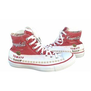 CONVERSE Chuck Taylor Andy Warhol TOMATO Sneakers